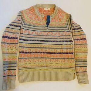 Women's Anthropologie Bohemian Pattern Sweater
